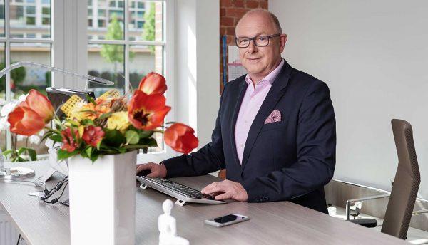 Geschäftsführer Jörg Gerhardt