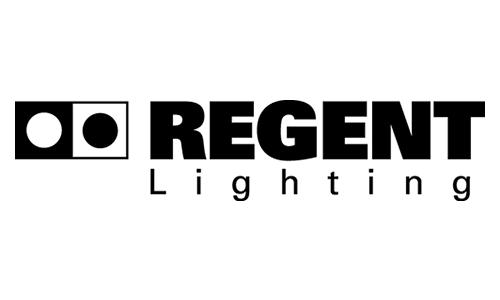 Regent Lighting Logo als Partner der Büroland Kinderweihnachtsfeier