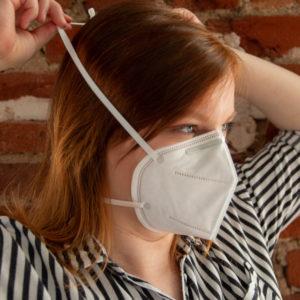 richtige Anwendung von Mundschutzmasken