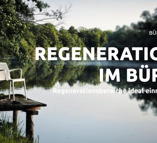 Titelbild mit Twin von Brunner für Regeneration im Büro