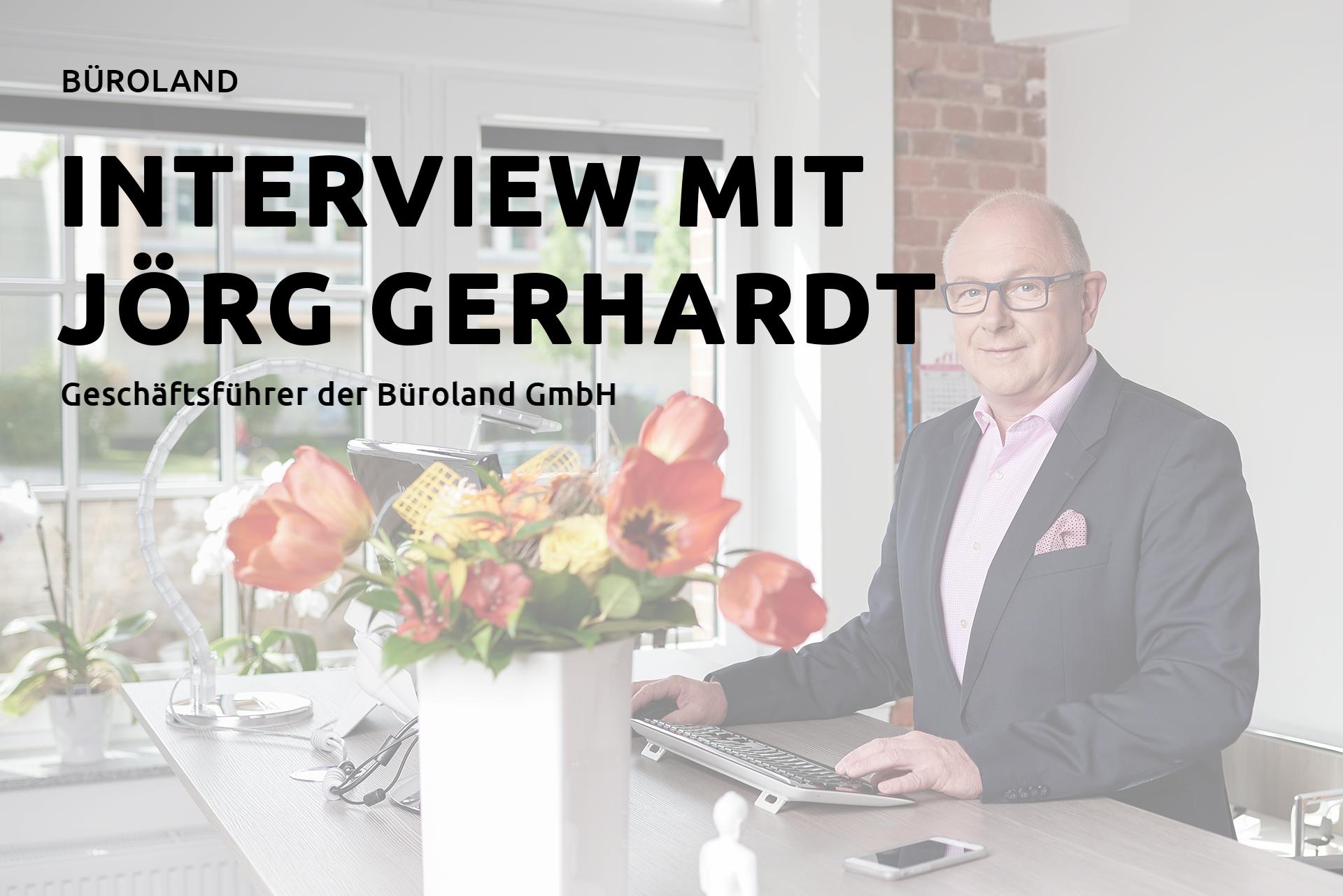 interview mit einem unserer Geschäftsführer