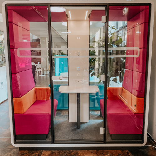 Ausstellungsstück Mikomax Meeting Cube für 2 Personen