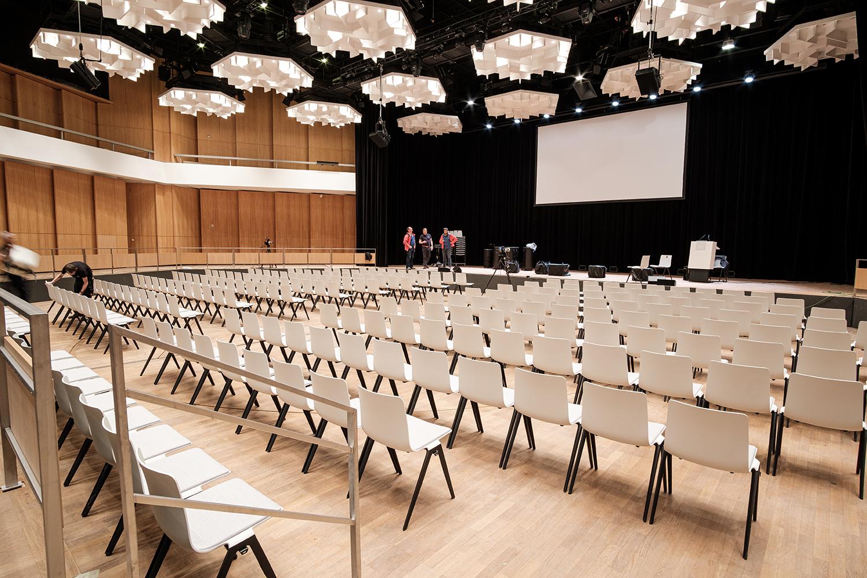 Veranstaltungssaal der Stadthalle Chemnitz